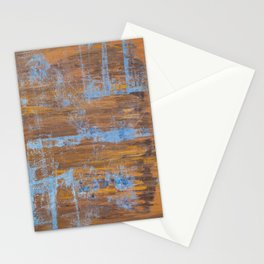 Exultant Summer - Abstract Expressionist Artwork Stationery Cards