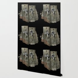 Separation Barrier Wallpaper