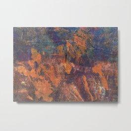 Fluorite Canyon Metal Print