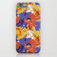 Retro Floral Slim Case iPhone 6s