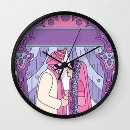 Sikh Wedding Wall Clock