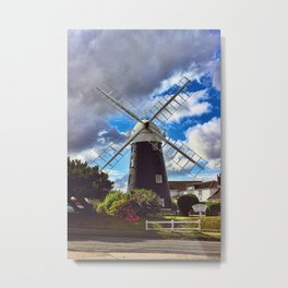 Stow Windmill Paston Metal Print