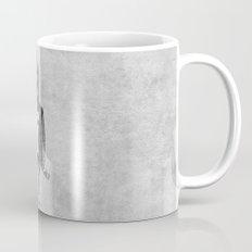 Punk Chiken.  (black & white) Mug