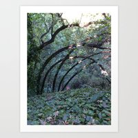 oakland Art Prints featuring Oakland Arches by Scarlet Tinsey