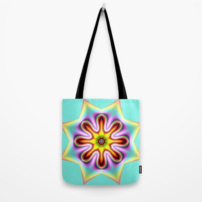 Decorative colourful silky star Tote Bag