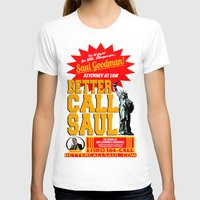 better call saul T-shirts featuring BETTER CALL SAUL  |  BREAKING BAD by Silvio Ledbetter