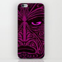 maori iPhone & iPod Skins featuring Maori style 02 by Alexis Bacci Leveille