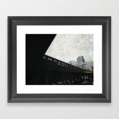 Looking Glass Framed Art Print