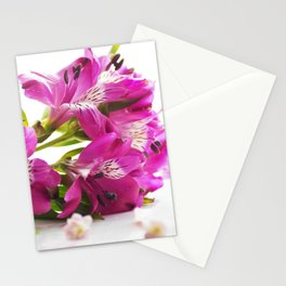 Flower magic in pink Stationery Cards