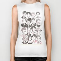 downton abbey Biker Tanks featuring Downton Abbey by giovanamedeiros