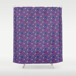 Universe Pattern Shower Curtain