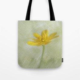 In yellow-green tones Tote Bag