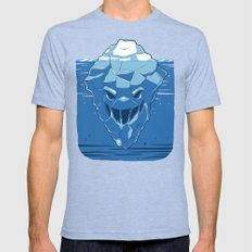 Below the Surface 2X-LARGE Mens Fitted Tee Tri-Blue