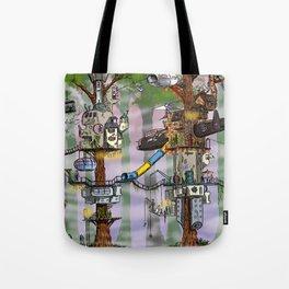 Modern Pixie Kingdom Tote Bag