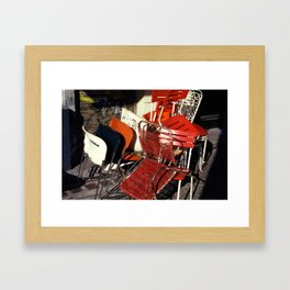 VOLTE-FARCE Framed Art Print