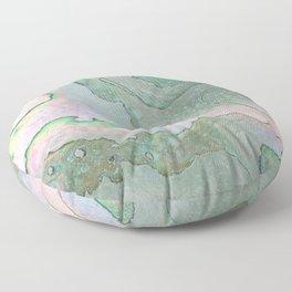 Shell Texture Floor Pillow