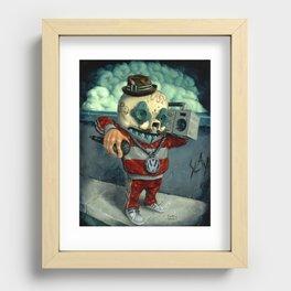 Beastie Calavera. Recessed Framed Print
