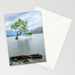 A story of beauty and survival at lake Wanaka, New Zealand. Stationery Cards