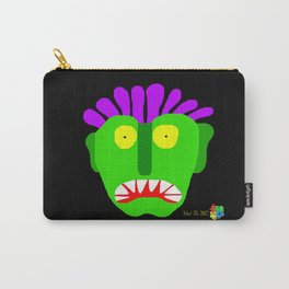 Green Man I Carry-All Pouch