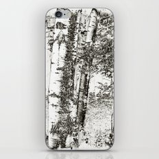 North Woods Sketch iPhone & iPod Skin