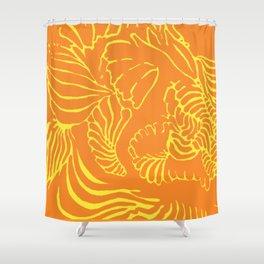 Shape Study: Mandarin Shower Curtain