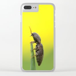 looking in the distance Clear iPhone Case