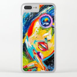 TOO HOT Clear iPhone Case