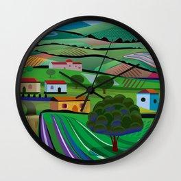 Santa Barbara Farms Wall Clock