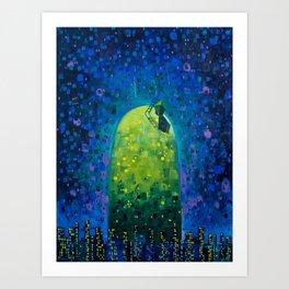 Oasis in the Urban Jungle Art Print