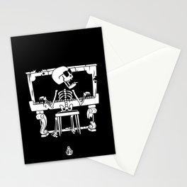 Piano ray Stationery Cards