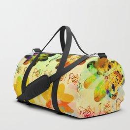 flower flip Duffle Bag
