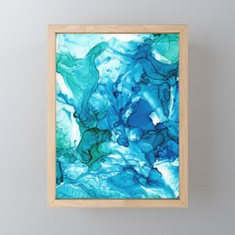 Into the Blue I Framed Mini Art Print
