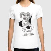 ram T-shirts featuring Ram by Hopler Art