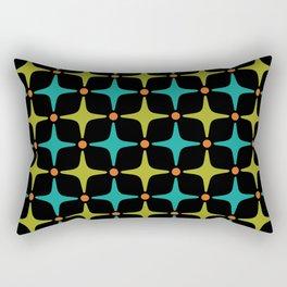 Mid Century Modern Star Pattern 926 Rectangular Pillow
