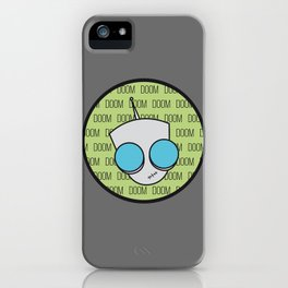 Gir Doom iPhone Case