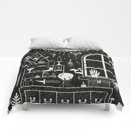 Moon Altar Comforters