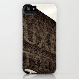 Tuxedo Tobacco iPhone Case