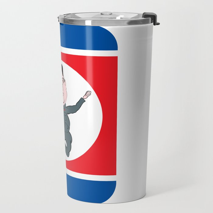 North Korea Dabbing Travel Mug