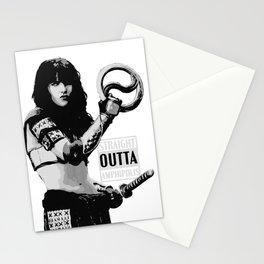 Xena Straight outta Amphipolis Stationery Cards