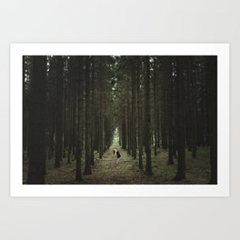 The Woods of St Olof 2 Art Print