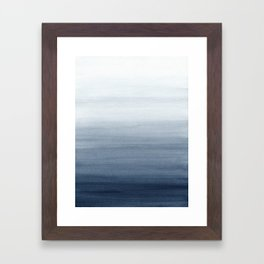 Ocean Watercolor Painting No.2 Framed Art Print