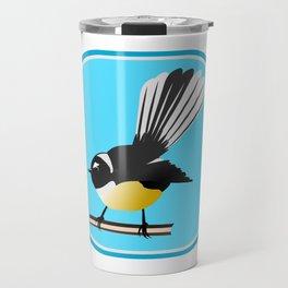 Fantail NZ BIRD Travel Mug