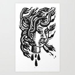 Medusa 2 Art Print