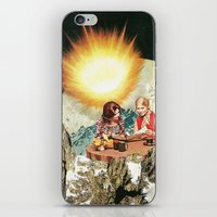 breakfast iPhone & iPod Skins featuring breakfast by Caroline A