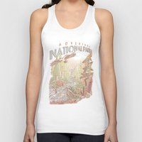 parks Tank Tops featuring Adventure National Parks by Taylor Rose