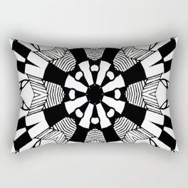 Atomic Garden Rectangular Pillow