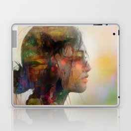 Girl of April Laptop & iPad Skin