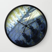 chess Wall Clocks featuring Chess by Beatrice