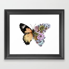 Butterfly in Bloom II Framed Art Print