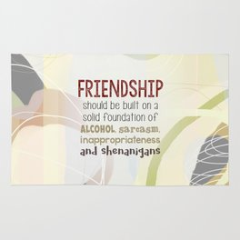 Friendship-Shenanigans Rug